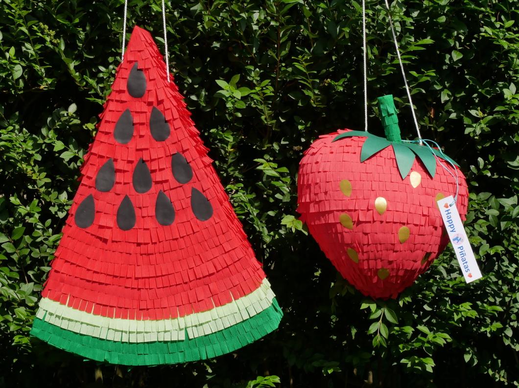 Pinata Melone - Pinata Erdbeere